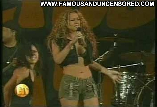 Mariah Carey Entertainment Tonight Bikini Interview Sexy Shorts