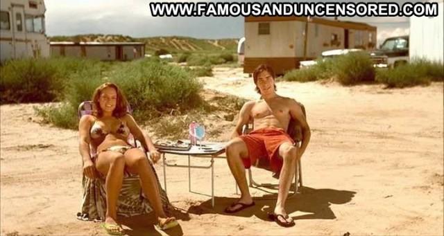Agnes Bruckner Dreamland Breasts Big Tits Chair Celebrity Bikini