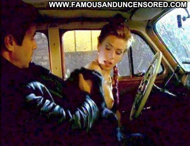 Celine Bonnier The Hunger  Celebrity Topless Big Tits Car Breasts