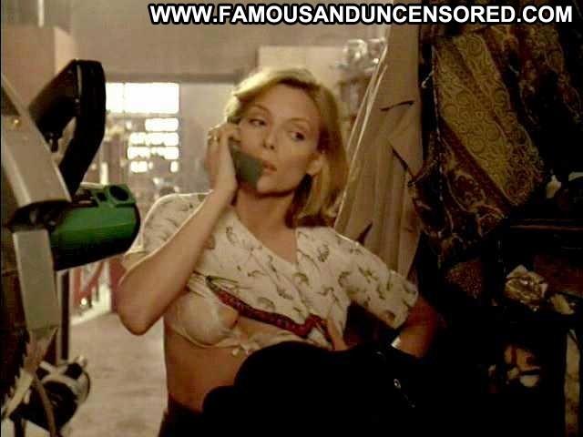 Michelle Pfeiffer One Fine Day Shirt Bra
