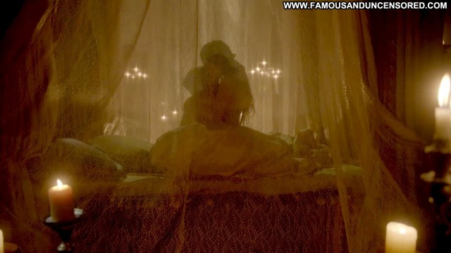 Adelaide Kane Nude Sexy Scene Reign Bed Showing Tits Actress