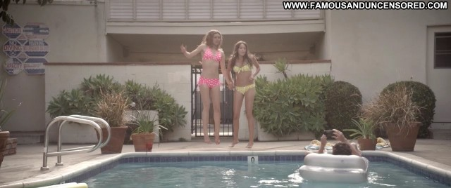 Amanda Fuller Starry Eyes Pool Bikini Famous Celebrity Posing Hot