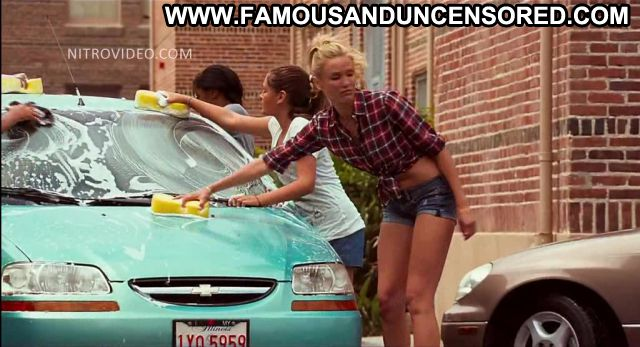 Cameron Diaz Bad Teacher Car Wash Nude Scene Showing Tits
