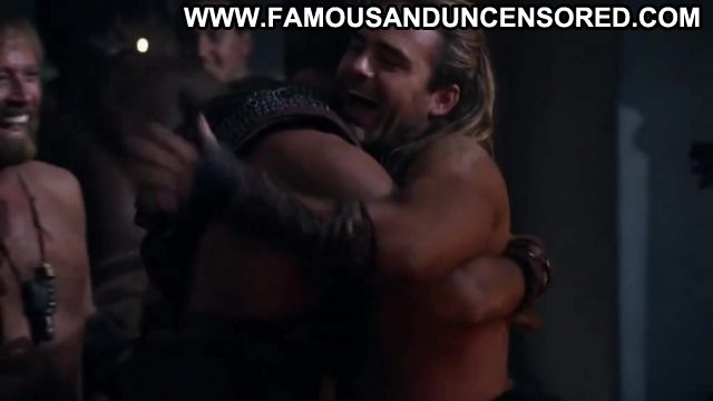 Ellen Hollman Nude Sexy Scene Spartacus Party Showing Tits