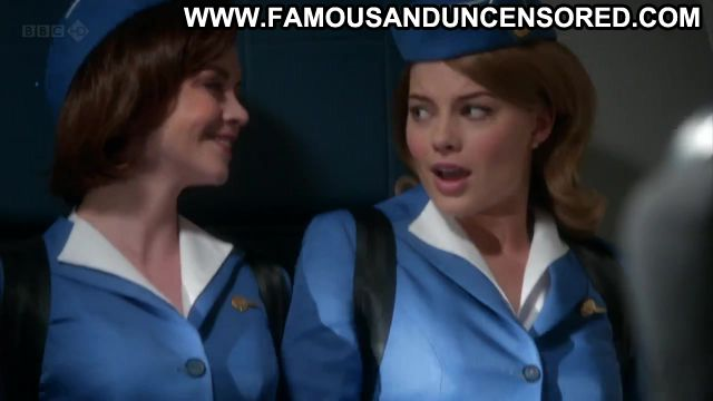 Margot Robbie Nude Sexy Scene Pan Am Uniform Blonde Gorgeous