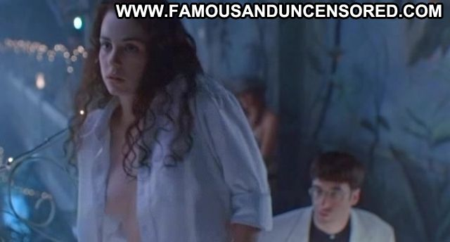Mia Kirshner Nude Sexy Scene Brunette Showing Tits Actress
