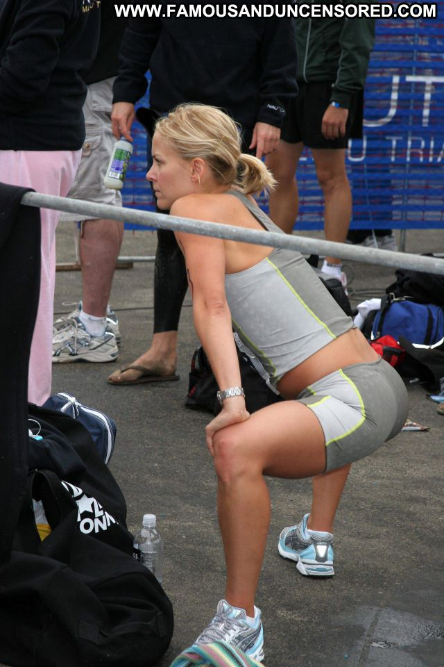 Brittany Daniel Famous Hot Celebrity Spandex Celebrity Blonde Workout