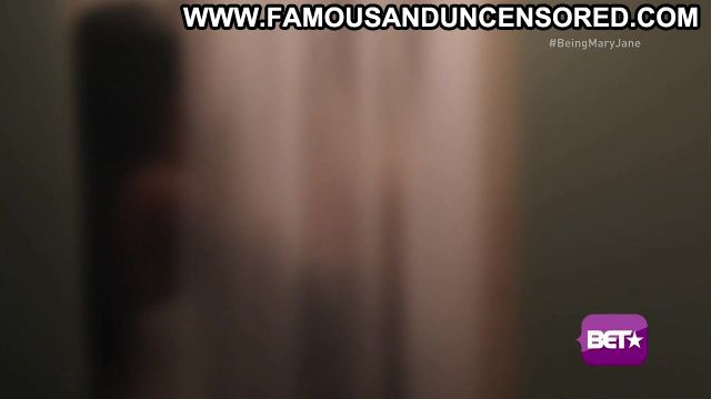 Gabrielle Union Nude Sexy Scene Being Mary Jane Shower Ebony