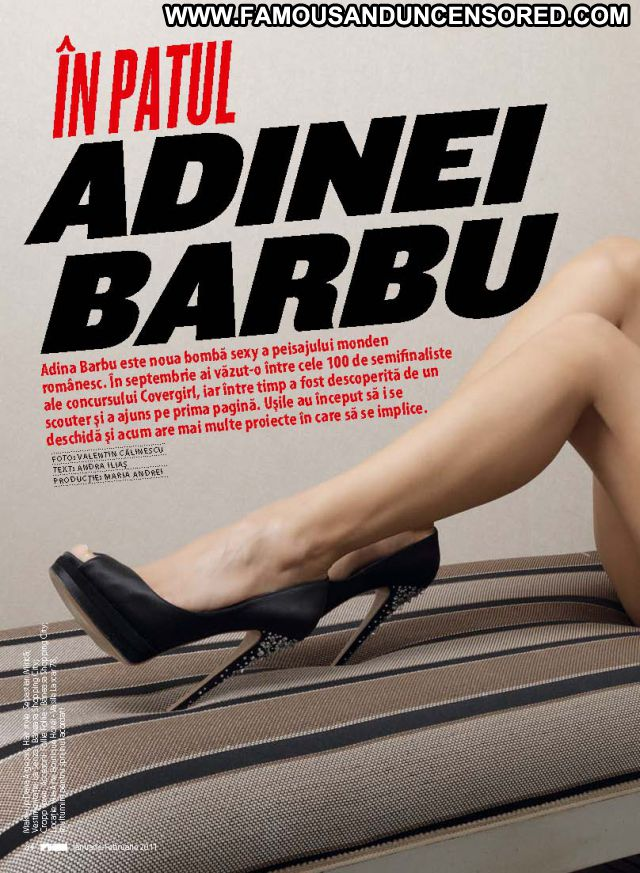 Adina Barbu No Source Famous Babe Posing Hot Celebrity Brunette