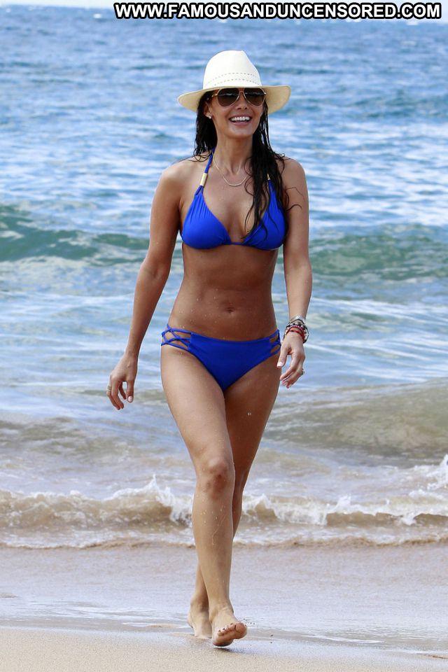 Ali Landry Nude Sexy Scene Beach Brunette Bikini Posing Hot
