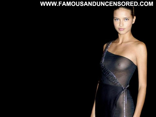 Adriana Lima No Source Celebrity Hot Famous See Through Showing Tits