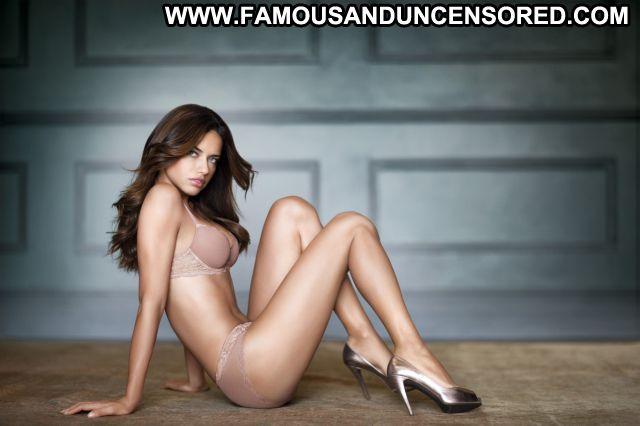 Adriana Lima Posing Hot Latina Lingerie Famous Celebrity Brazil Hot
