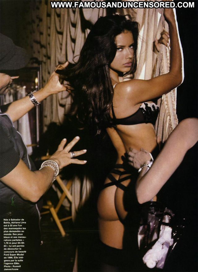 Adriana Lima No Source Posing Hot Hot Showing Ass Famous Brazil