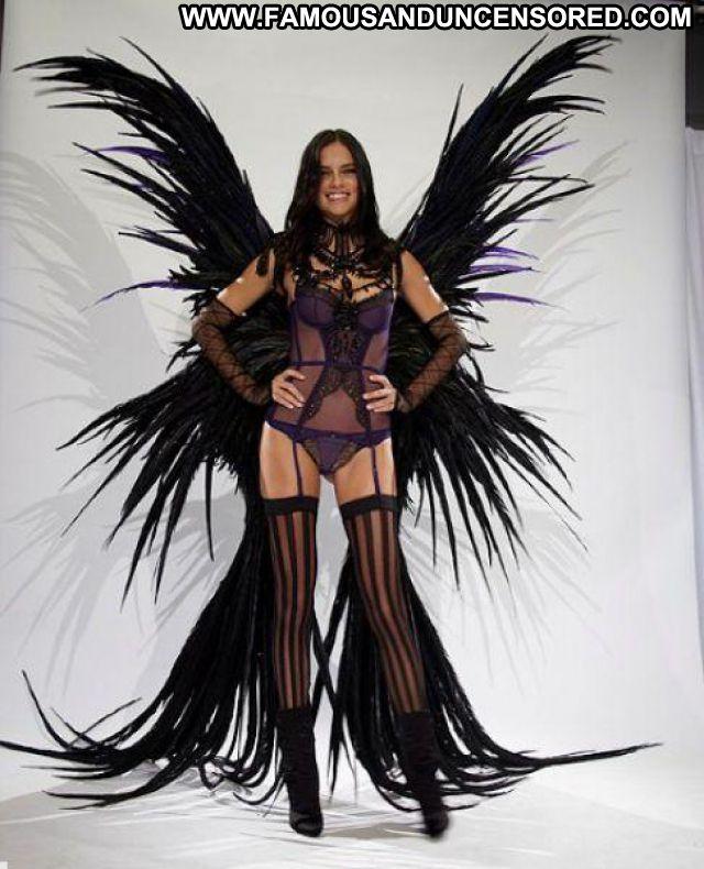Adriana Lima Brazilian Lingerie Stockings Latina Nude Scene
