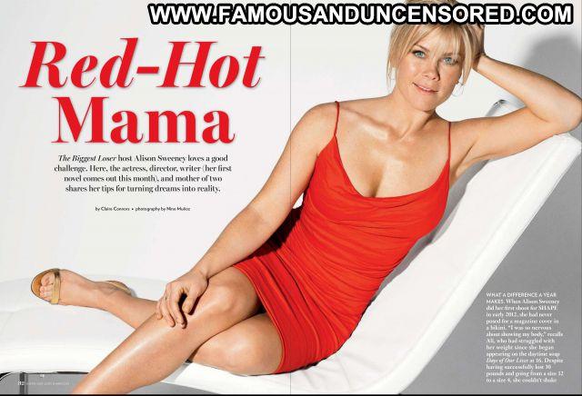 Alison Sweeney Blonde Blue Eyes Babe Posing Hot Hot Blonde Cute