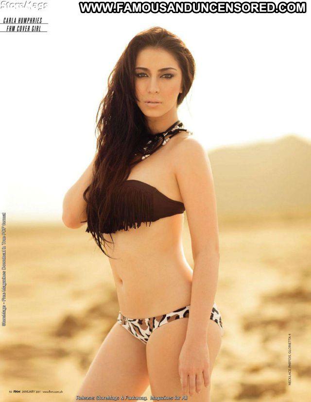 Carla Humphries No Source Hot Big Tits Famous Posing Hot Brunette