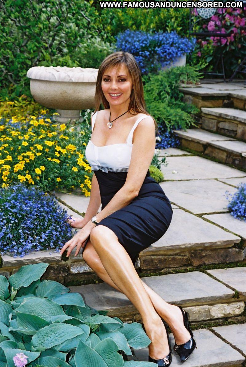 Carol Vorderman No Source Celebrity Posing Hot Babe