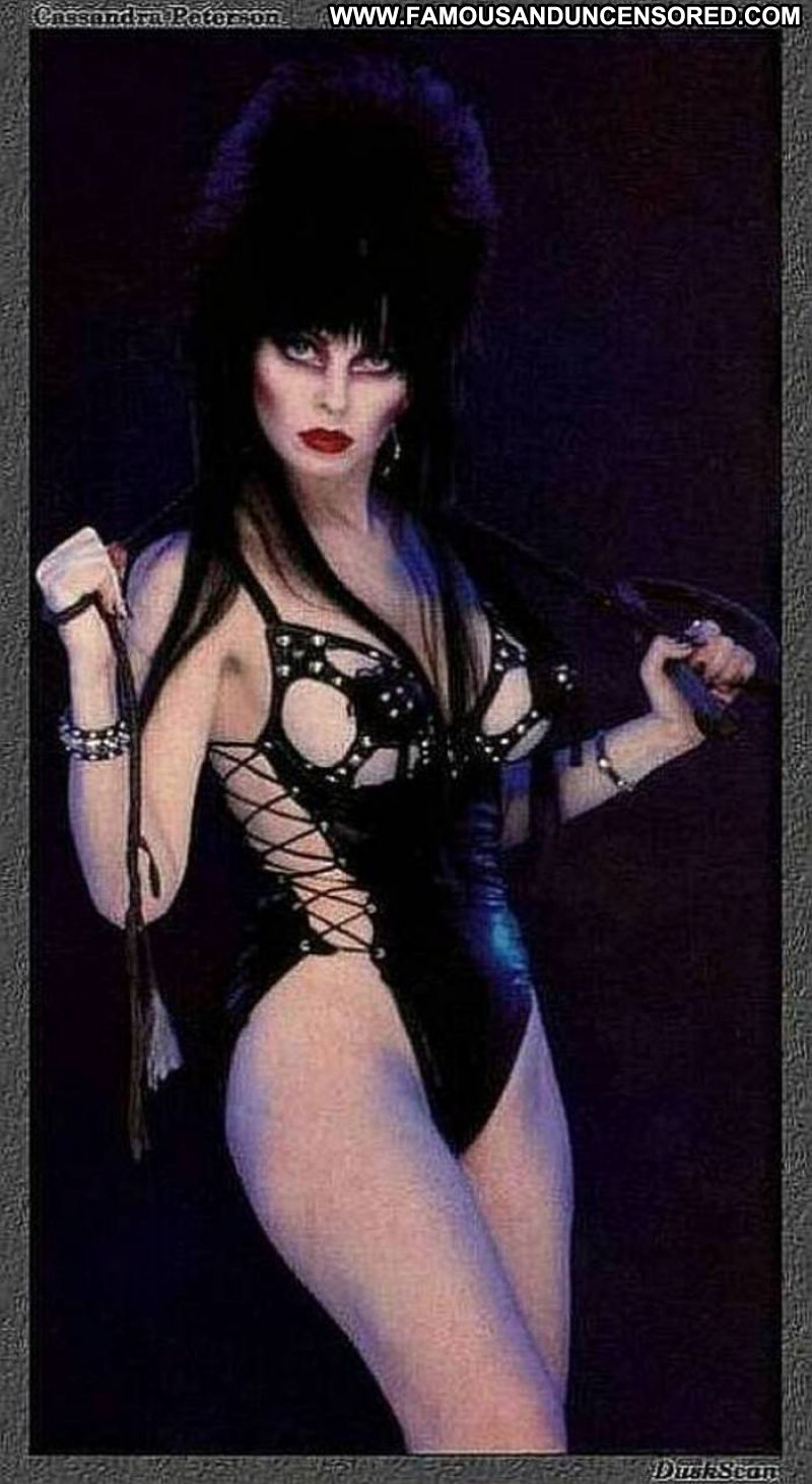 Cassandra Peterson Celebrity Posing Hot Babe Big Tits ...