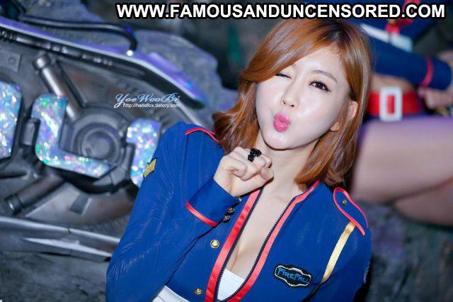 Choi Byuli Asian Hot Uniform Posing Hot Famous Posing Hot Fetish