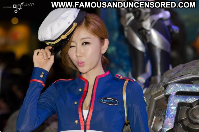 Choi Byuli Babe Fetish Asian Celebrity Famous Posing Hot Uniform