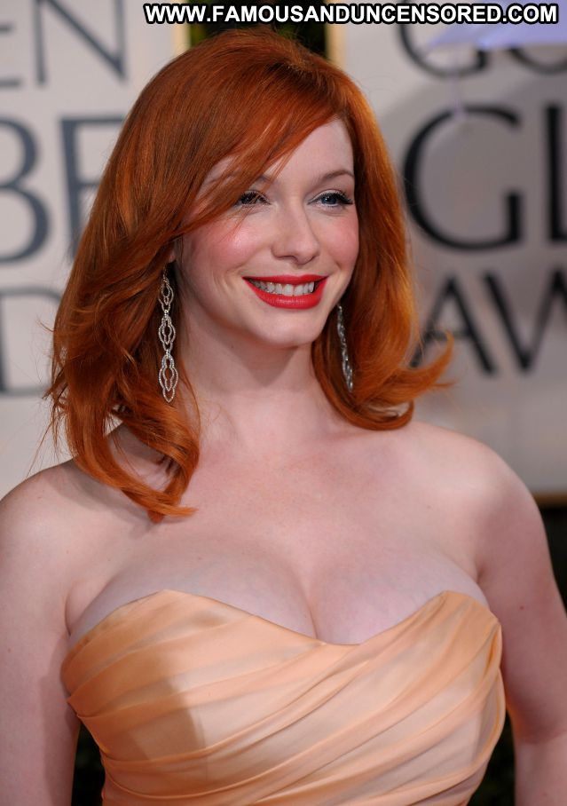 Christina Hendricks Nude Sexy Scene Huge Tits Redhead Female