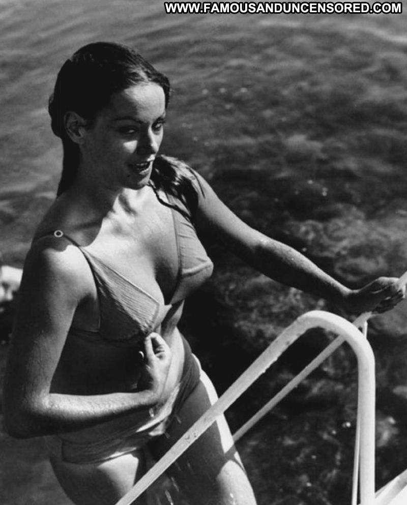 Claudine Auger No Source Celebrity Posing Hot Babe -9971