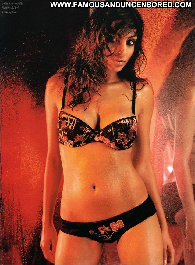 Collien Fernandes No Source Lingerie Posing Hot Brunette Cute Latina