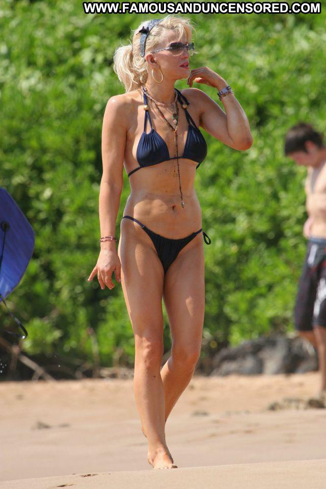 Courtney Love No Source Beach Blonde Hot Babe Bikini Celebrity Singer