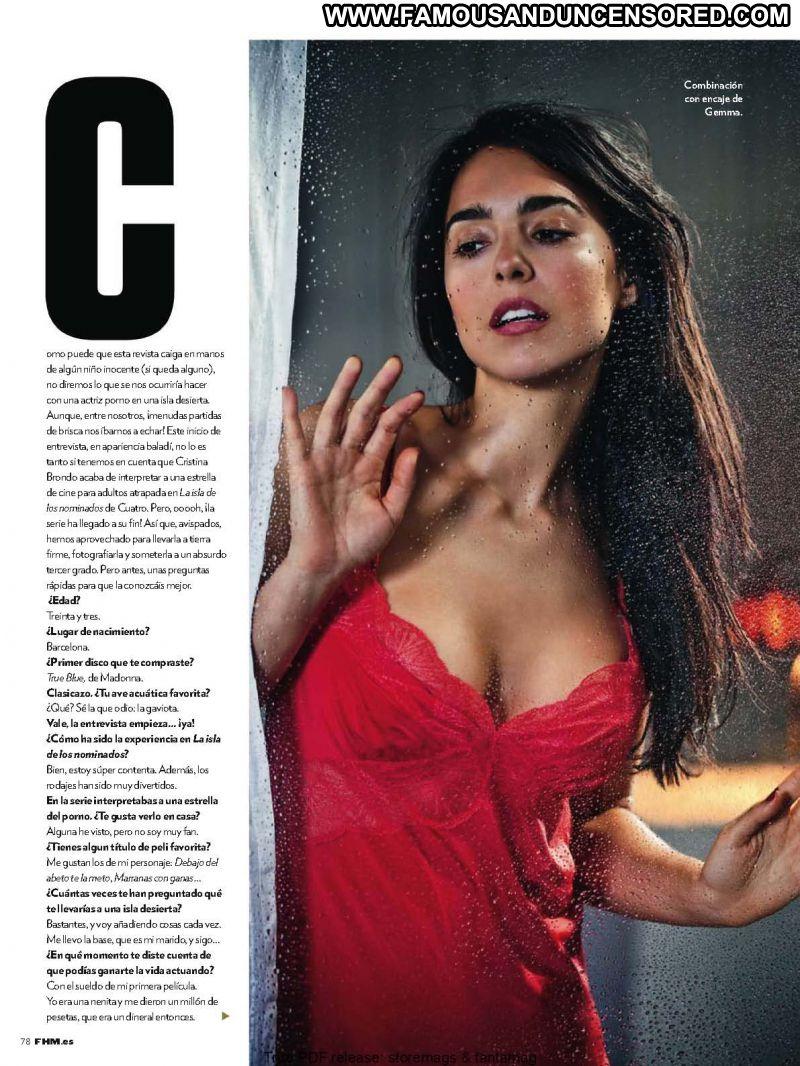 Cristina Brondo Cute Babe Posing Hot Brunette Celebrity Photos and ...