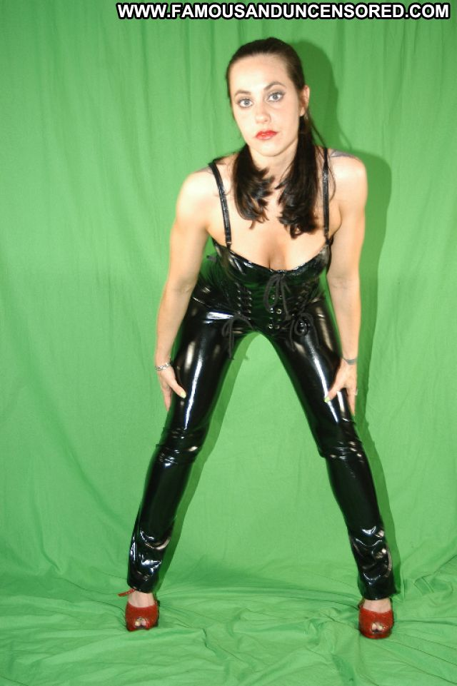 Daffney Nude Sexy Scene Latex Tattoo Fetish Brunette Actress