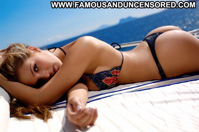 Danielle Lloyd Nude Sexy Scene Yacht Thong Bikini Blonde Hot