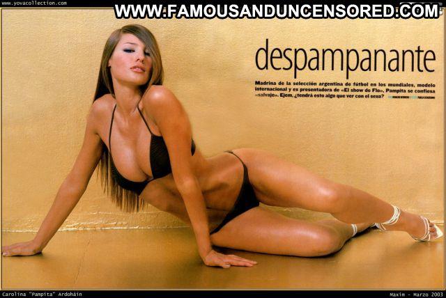 Pampita No Source Babe Hot Famous Ass Cute Celebrity Blonde Posing