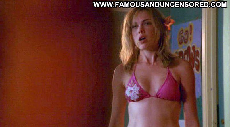 Amanda Walsh Cute Babe Posing Hot Blonde Bikini Blue Eyes