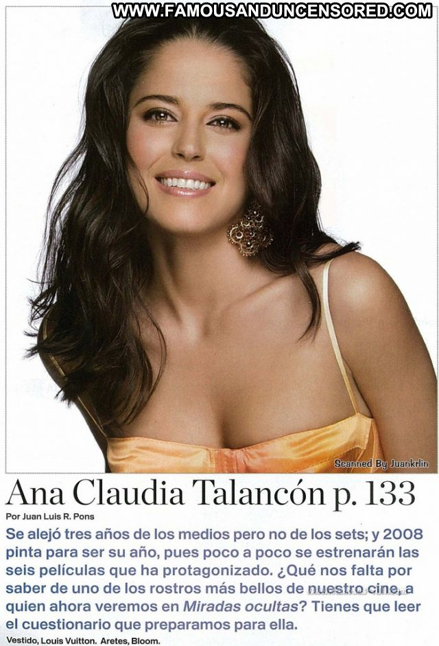 Ana Claudia Talancon No Source Babe Celebrity Ass Cute Posing Hot