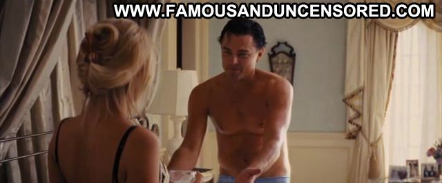 Margot Robbie Nude Sexy Scene The Wolf Of Wall Street Blonde