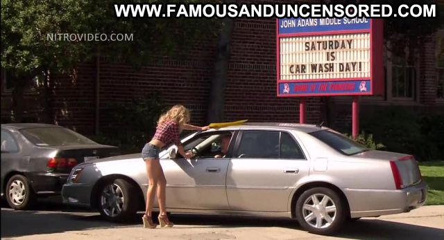 Cameron Diaz Bad Teacher Car Wash Blonde Showing Tits Horny
