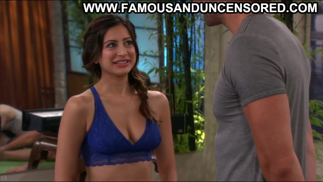 Noureen Dewulf Anger Management Workout Spandex Showing Tits
