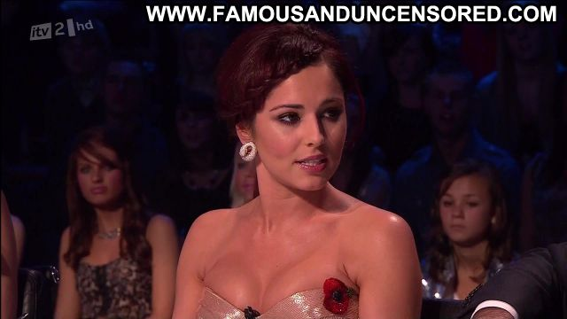 Cheryl Cole X Factor Showing Cleavage Redhead Actress Famous