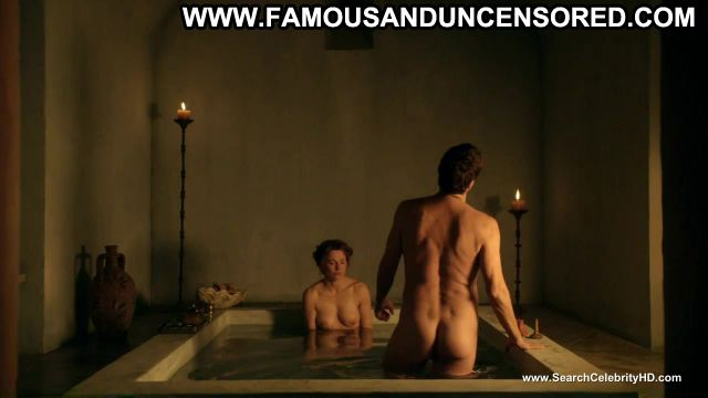 Lucy Lawless Spartacus Jacuzzi Redhead Showing Tits Actress