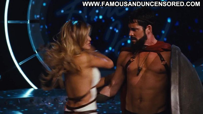Carmen electra nude in meet the spartans, tongue up babes arse
