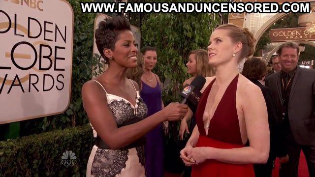 Amy Adams Golden Globe Awards Nude Posing Hot Awards Famous Sexy