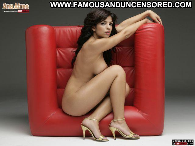 Ana Alves No Source Celebrity Tits Hot Posing Hot Brunette Cute Babe