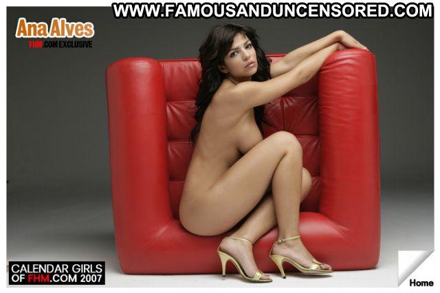 Ana Alves No Source Brunette Celebrity Babe Celebrity Posing Hot Big