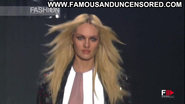 Candice Swanepoel Forum Fashion Show 2014 Fashion Sexy Scene