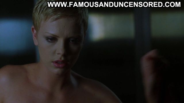 Charlize Theron The Astronauts Wife Kissing Sex Scene Blonde