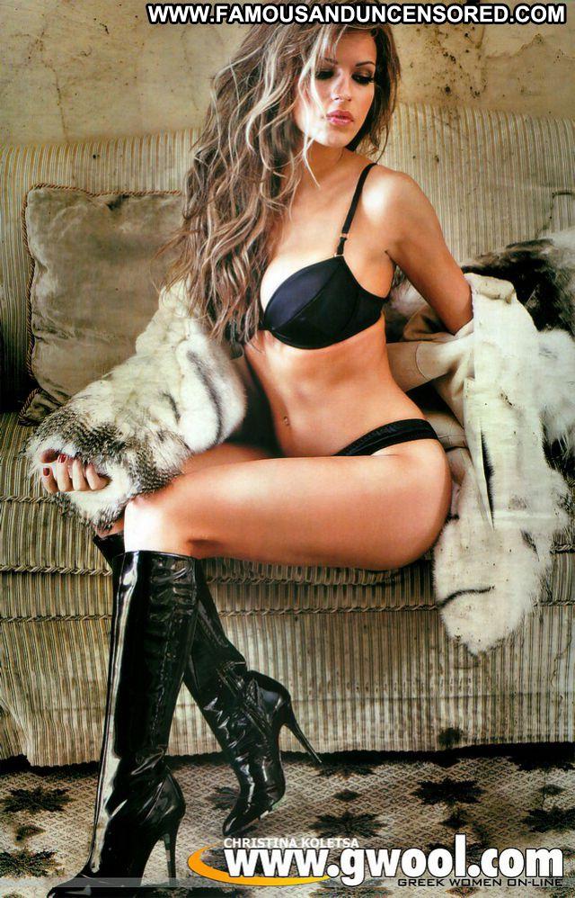 Christina Koletsa No Source Hot Posing Hot Celebrity Big Tits