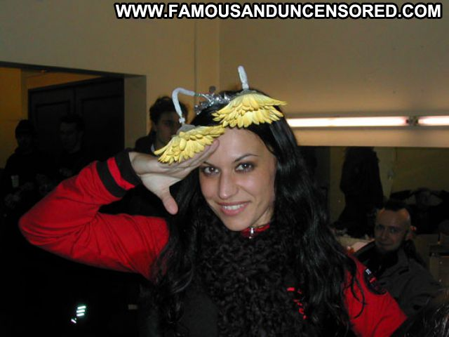 Christina Scabbia No Source Famous Babe Celebrity Posing Hot