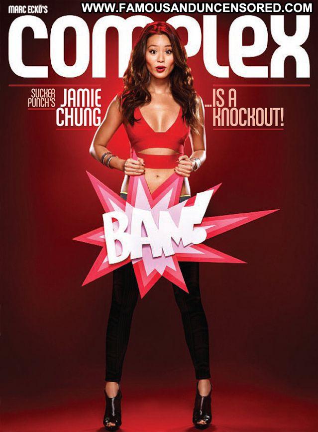 Jamie Chung Small Tits Posing Hot Actress Babe Small Tits Cute Hot