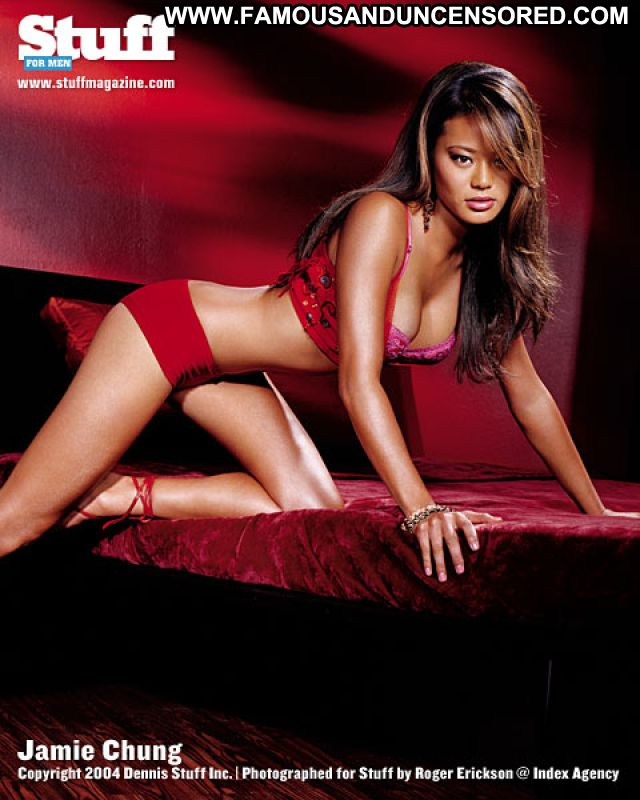 Jamie Chung Small Tits Actress Tits Small Tits Asian Hot Posing Hot