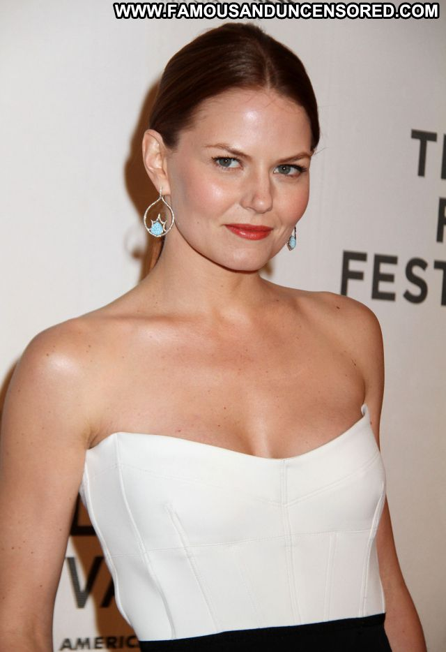 Jennifer Morrison Brown Hair Sexy Dress Gorgeous Actress Hot